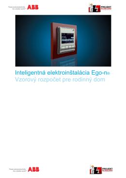 Vzorový rozpočet - Projekt Elektro
