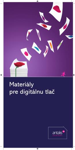 Materiály pre digitálnu tlač