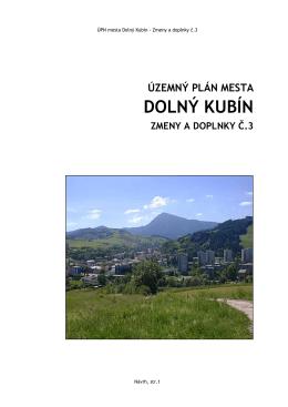 Mesto Dolný Kubín