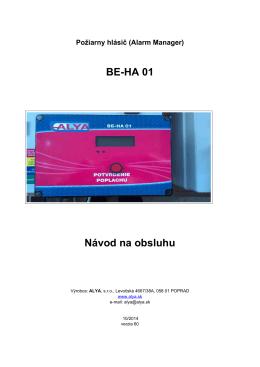 BE-HA 01 NavodNaPouzivanie.pdf - eshop