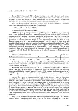 6. POLOHOV É BODOV É POLE Geodetické výpočty rôznych úloh
