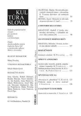 Slovotvorba prevzatých vlastných mien v slovenčine II. Tvorenie od
