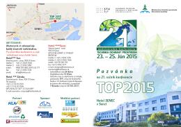 pozvánka TOP 2015 - ASPEK-u