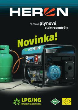 HERON - LPG elektrocentály - ema