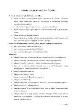 charta prav