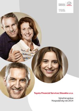 Výročná správa za rok 2014 - Toyota Financial Services