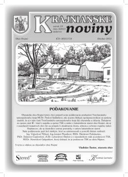 Krajnianske noviny číslo 3 (PDF – 19,5 MB)