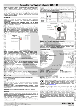 GS-130.pdf - Jablotron