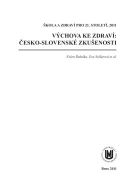 text publikace - Pedagogická fakulta MU