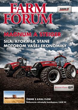 magnum a steiger - AGRI CS Slovakia