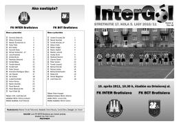 InterGól - AŠK Inter Bratislava