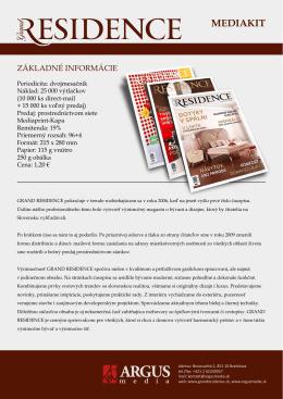MEDIAKIT - Argusmedia