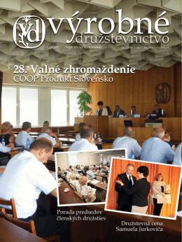 28. Valné zhromaždenie - coop produkt slovensko