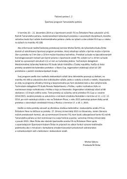Tlačová správa (PDF, 121.42 KB)
