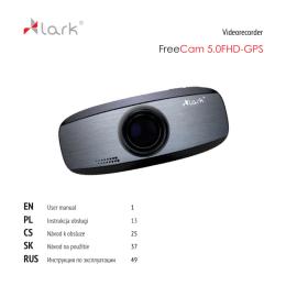 EN PL CS SK RUS FreeCam 5.0FHD-GPS