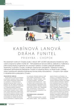 KABÍNOVÁ LANOVÁ DRÁHA FUNITEL