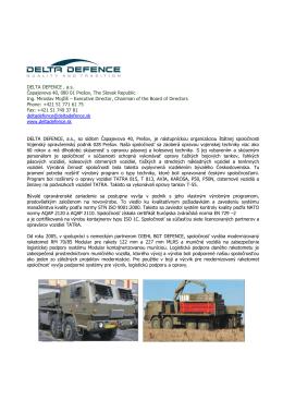 delta defence_sk