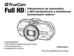 TrueCam A7