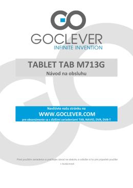 TABLET TAB M713G