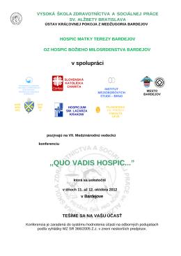 Pozvánka na konferenciu (pdf)