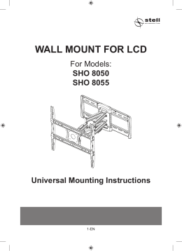 WALL MOUNT FOR LCD