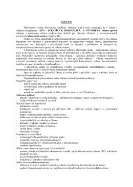 Oznam okresného úradu Levoča