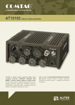 AT10102 Dátová riadiaca jednotka (produktový list)
