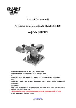 SHK305 - OSTŘIČKA PILOVÝCH KOTOUČŮ
