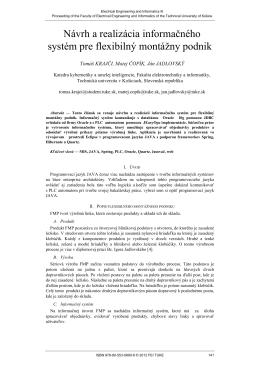 Návrh a realizácia informačného systém pre flexibilný