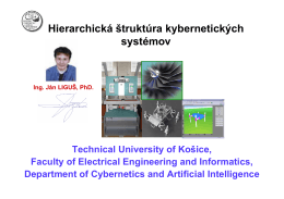 Hierarchická štruktúra kybernetických systémov