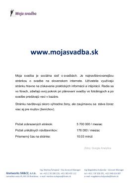 www.mojasvadba.sk