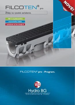 katalóg FILCOTEN pro 2013