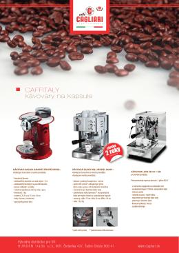Kávovary/parametry - PDF na stiahnutie tu