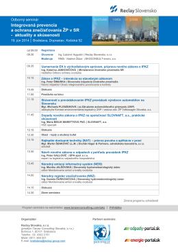 Program seminára v PDF