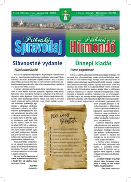 PRIBETSKY SPRAVODAJ - decemeber 2012.indd