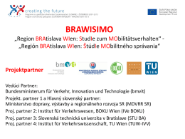 "BRAWISIMO ""Region BRAtislava WIen: StudIe zum"