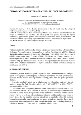 lykožrút smrekový (ips typographus) a jeho úloha vo forézii