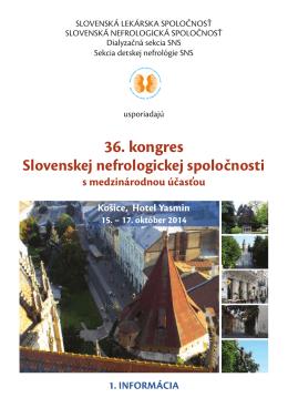 1 info - Slovenská lekárska spoločnosť