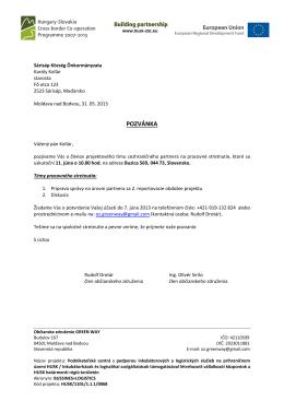 Pozvánka - 11.06.2013