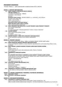 dokument - VRB East Europe