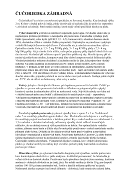 Návod na pestovanie čučoriedky záhradnej (PDF)