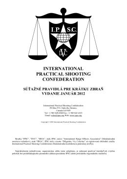 Pravidlá IPSC
