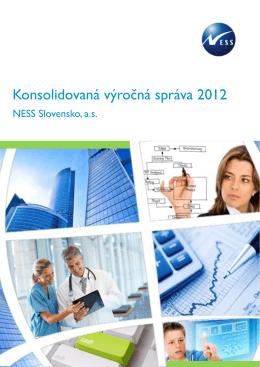 Konsolidovaná výročná správa 2012