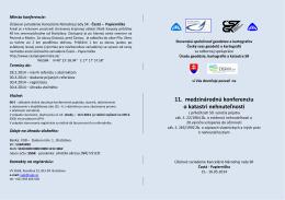 Pobočka SSGK - Slovenská spoločnosť geodetov a kartografov