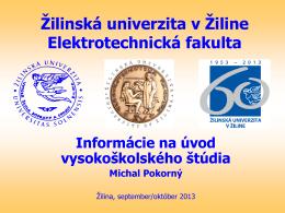 Informácie na úvod vysokoškolského štúdia (*.pdf)