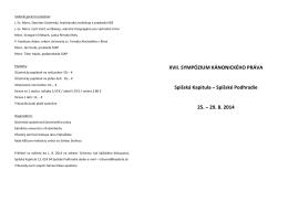 Program vo formáte pdf