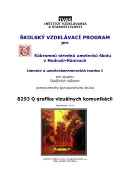 −kVP 8293 Q Grafika vizuálnych komunikácií
