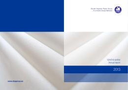 Výročná správa Annual report