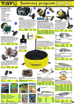 Sumcový program - Rybárske centrum