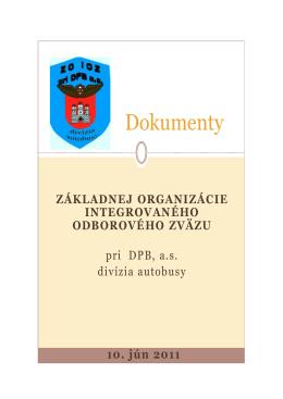 dokumenty zo ioz - odbory
